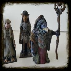 figuras cristal Oscuro