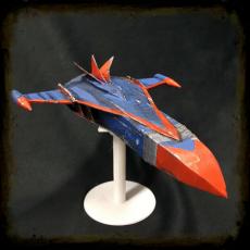 maqueta nave Fenix