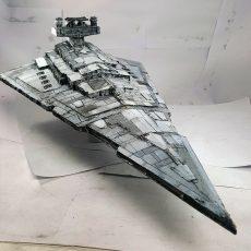 maqueta star wars destroyer